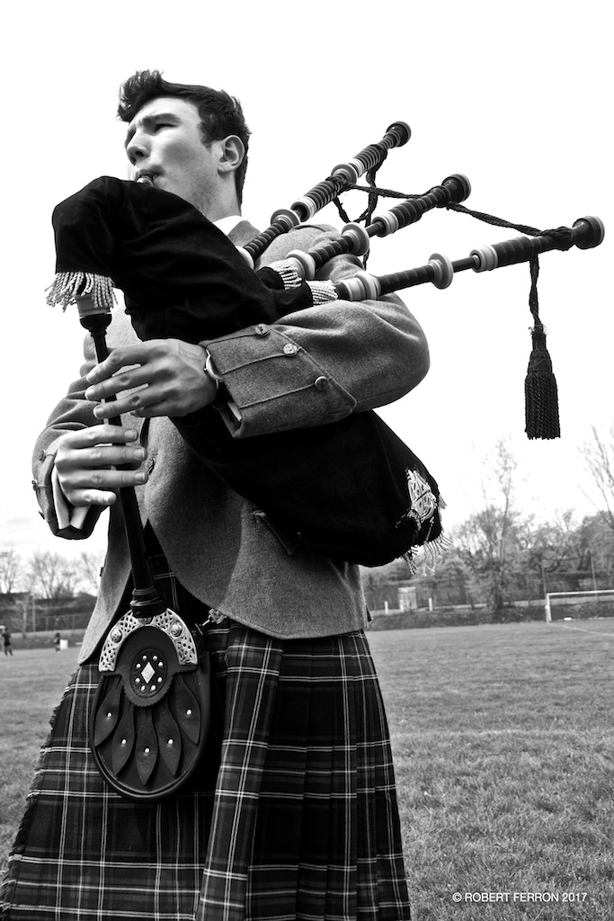 Issac Woods Hudson - Bagpiper for Hire